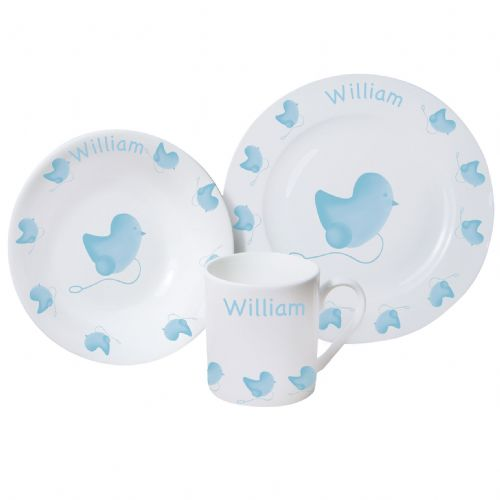 Personalised Chick Breakfast Set